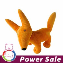2016 cute fox plush toy soft toy for sale
