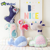 Alibaba Metoo Wholesale Kids Cute Doll Toys Stuffed Animal Pillow Baby Soft Stuffed Pillow