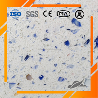 Cut-to-Size Artificial Quartz Stone for Bathroom Vanity Tops
