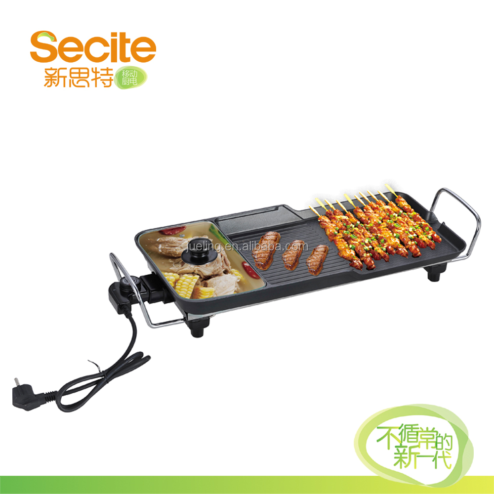 Electric Steam Hot Pot Grill for BBQ