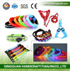 QQ Pet Product Manufacturer Flashing Led Dog Collar Dog Leash And Dog Harness Rechargeable