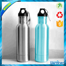 New design Portable 18/8 stainless steel water Bottle holder with Insulat or Opener