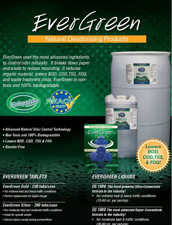 Evergreen Portable Toilet Treatment Fluid