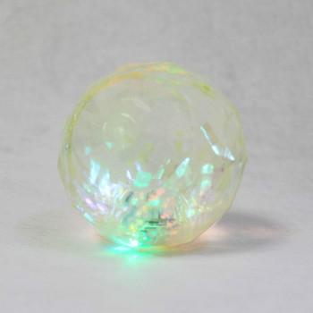 2015 crystal promotional rubber bouncing ball