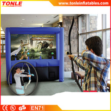 2016 hot sale Inflatable Safe Archery game, inflatable bowman challenge game