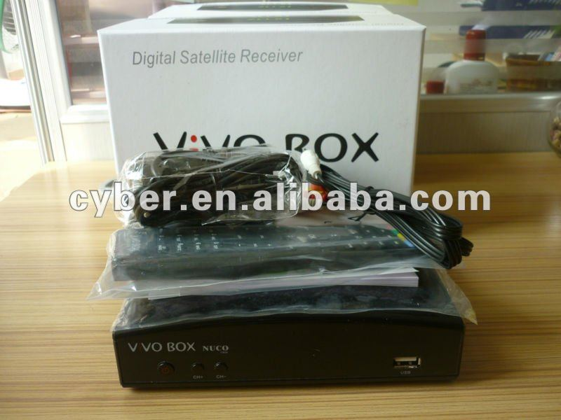 IKS SKS twin tuner nagra 3 decodr original Vivo BOX NUCO with logo