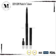Private Label, Waterproof Twist Eyeliner, Lip Liner, Eyebrow Gel Pencil, With Sharpener, Long Lasting and Smooth Formula