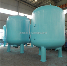 carbon steel filter housing for water recycling system