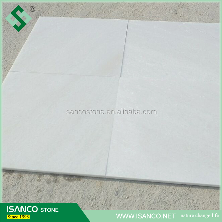 high polished snow white marble tiles, 600*600 paving marble stone