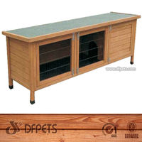 Pet Rabbit Cage Samll Animal Hutch Crate DFR031