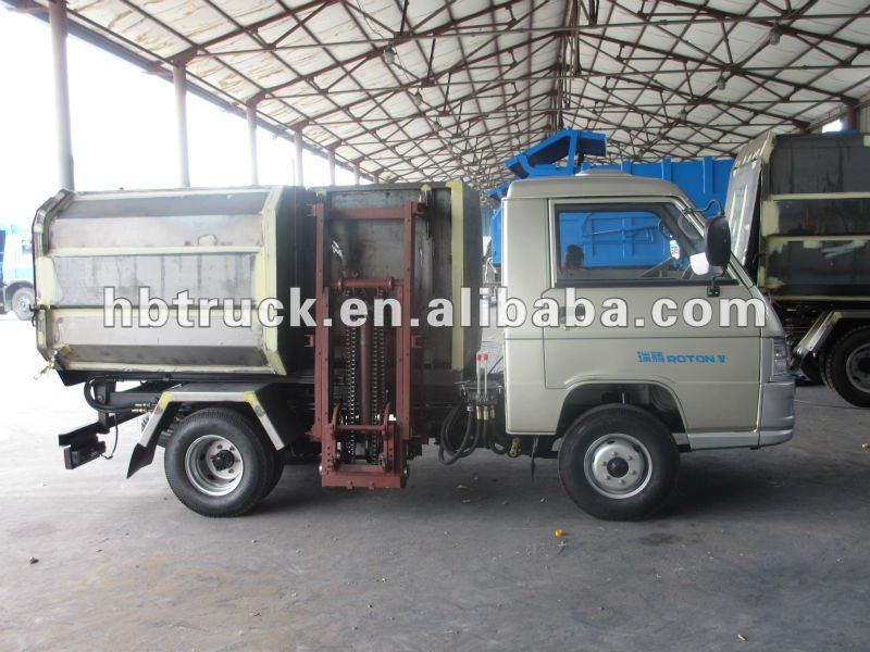 mini ChangAn Sealed Garbage Truck