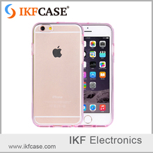 TPU clear soft transparent phone case for iphone5 5s se,lovely candy color case