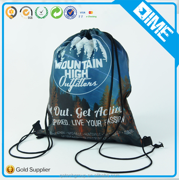 Hot Sales For Promotion Recycled OEM Manufacturer Waterproof Drawstring Bag