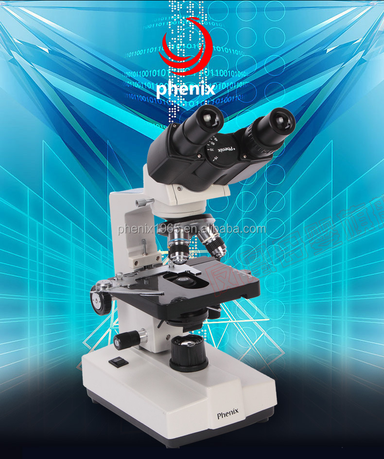 Phenix clinical biological binocular medical microscope buy direct from china manufacturer