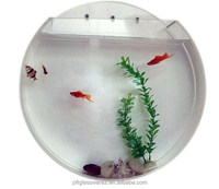 Wall Mount Hanging Acrylic/Fish Tank Glass Aquarium