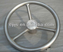 round/aquare bore stainless steel welding spoke handwheel/stainless steel handwheel