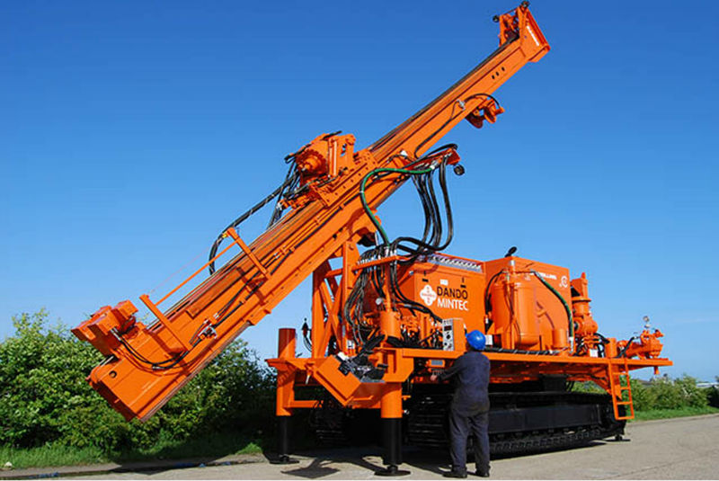 The Dando Drilling Mintec 18 (Dando Drilling International)
