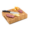High Quality New product end grain organic bamboo cutting board