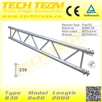 Outdoor project used aluminum 6082-T6 truss