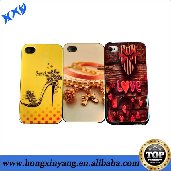 mobile phone shell,3d cell mobile phone case, IMD design pc case for iphone5