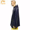 Color Custom Logo Printed Raincoat Rain Poncho Jacket