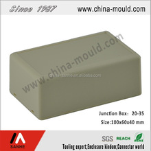 ABS plastic electronic junction box with battery