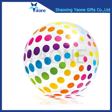 Colorful Outdoor Custom Logo Print OEM Design Large Beach Ball Inflatable PVC Kids Toy