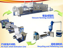 Plastic Foamed Plate And Cup And Food Box Making Machine