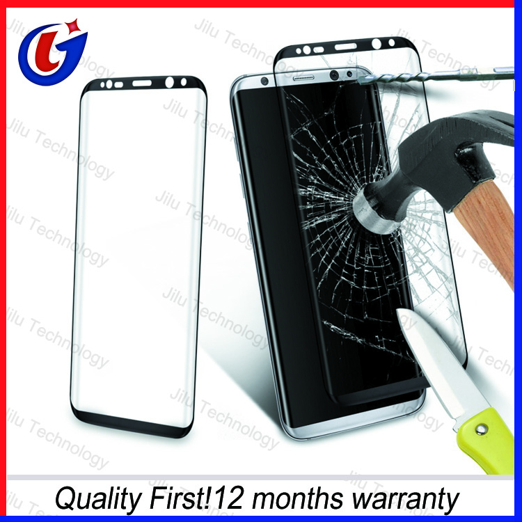 3D curved screen guard for samsung galaxy s8 plus glass protective tempered