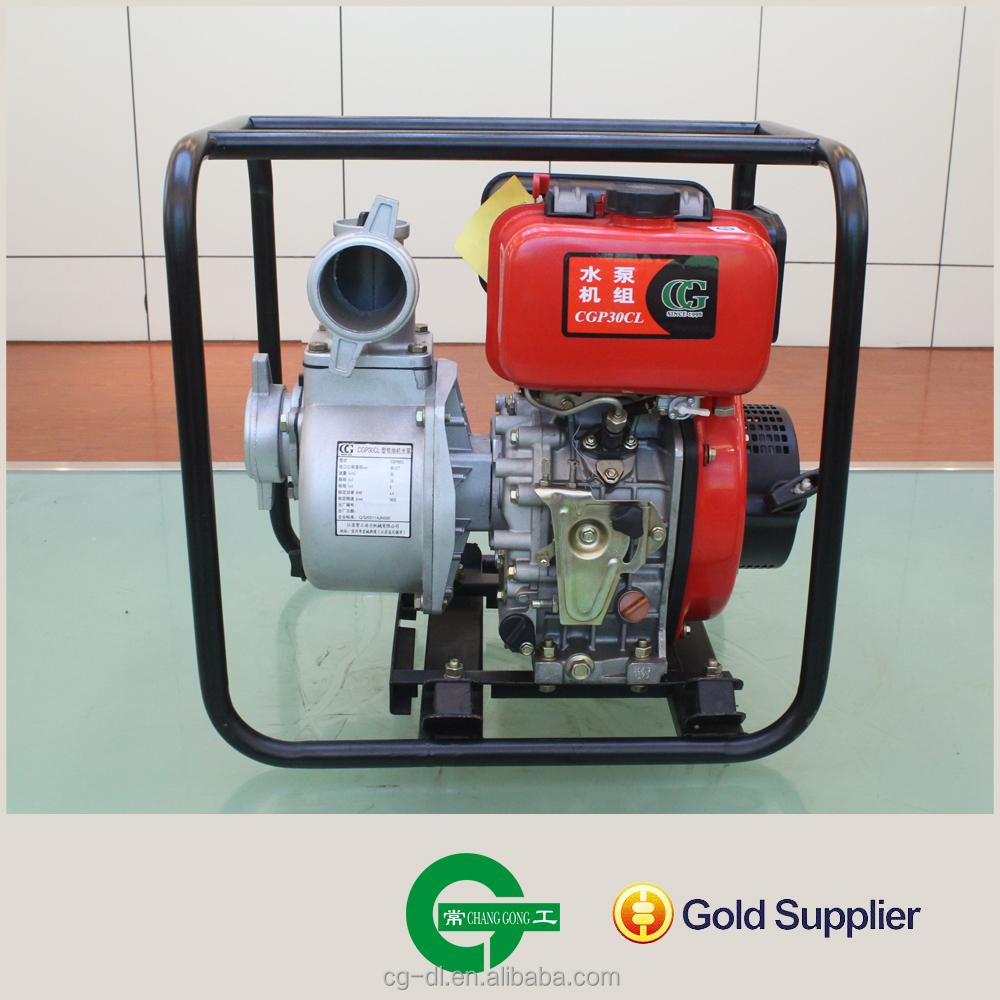 Changgong Diesel Engine Driven Water Pump For Irrigation