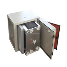 China supplier competitive price electrostatic precipitator for Industrial Waste Air Scrubber with grease purification