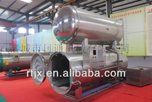 Double water bath cycle high temperature and pressure sterilizing kettle and retort