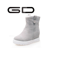 short platform boots white heels warm footwear for women