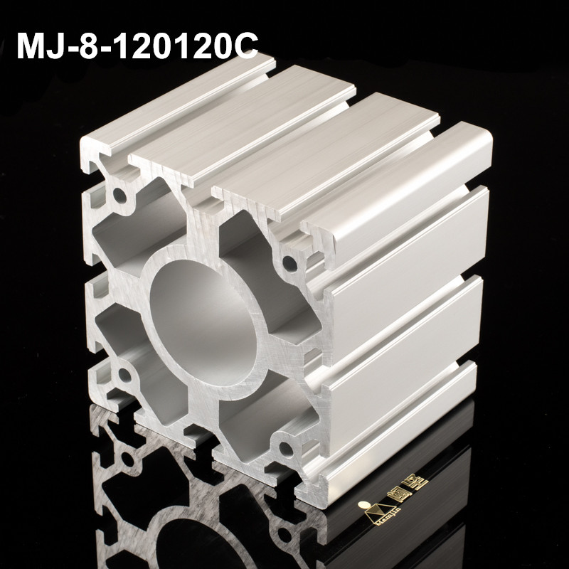 extrusion industrial aluminum profile industrial profile anodizing customized powder coated aluminum profile