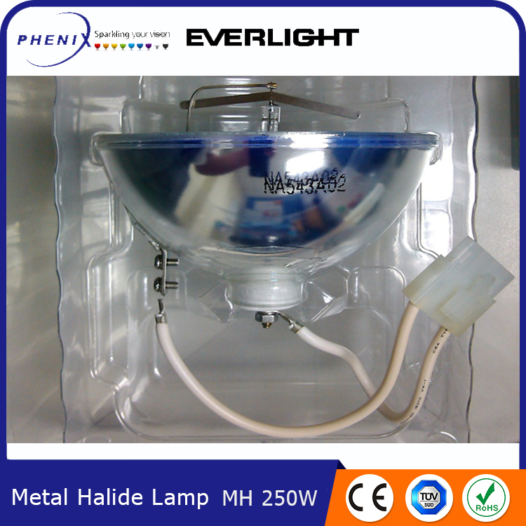 Competitive price new product 250W Metal Halide Lamp made in Taiwan
