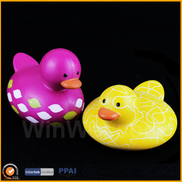 Vinyl Bath Toys Plastic Mini Ducks