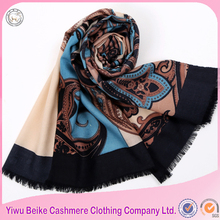 hot selling high quality paisley pattern pashmina import