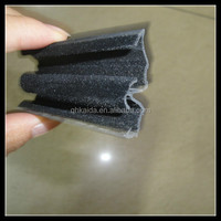 windproof glass window flocking car door rubber sealing