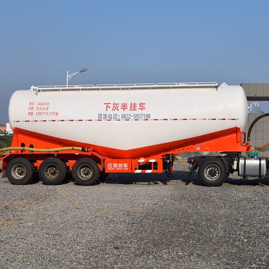 3 axles bulk cement trailer for sale