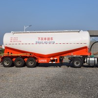3 axles used bulk cement semi trailer cheap semi trailer for sale