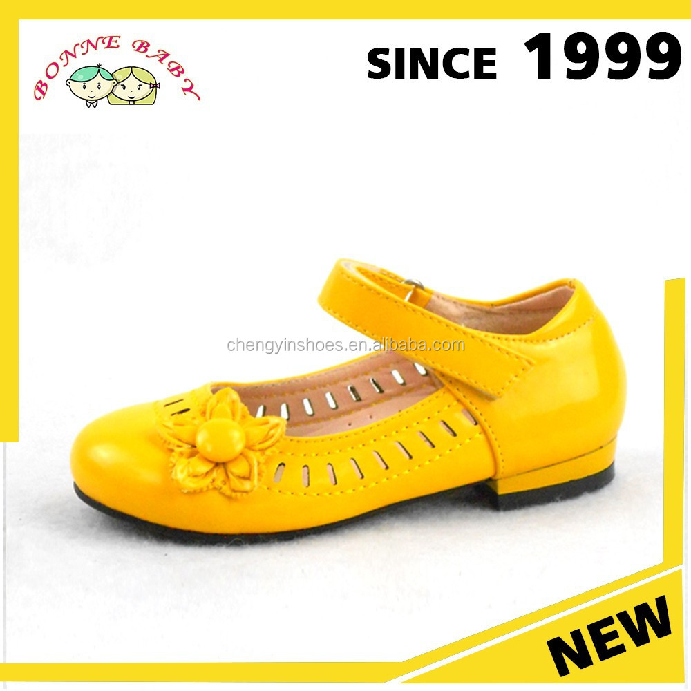 Ballet Flats Yellow Teenage Fashion Cheap Dance Shoes For Girls