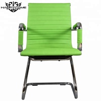 Comfortable green office meeting chair office visitor chair OS-3507