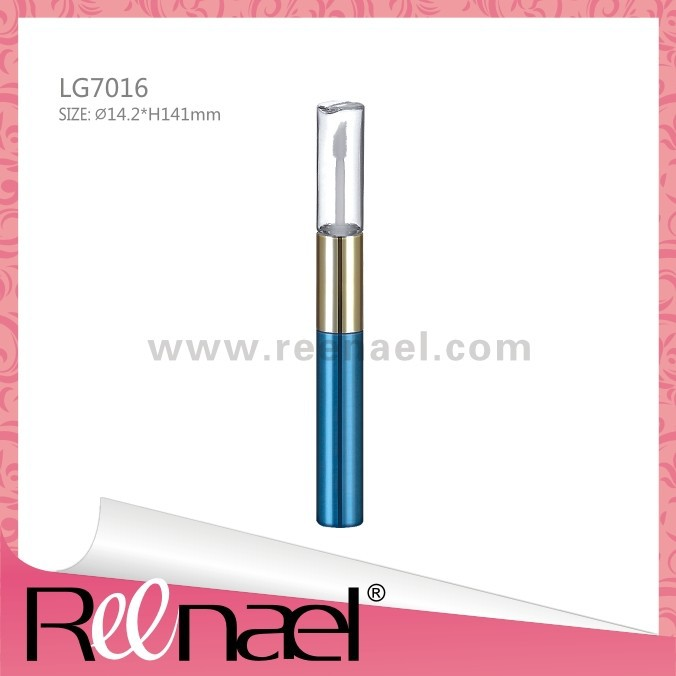 Double edged lip gloss case, high quality, luxury design, fashion cosmetic packaging