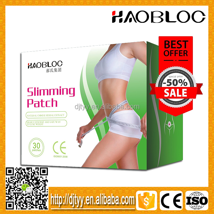 Chinese Natural Herbal Medicine Weight Loss Product Slimming Patch For Weight Loss