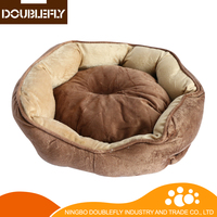 High Quality Soft Plush Cat Bed Pet Supplier For Dog And Cat