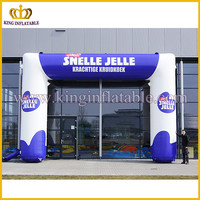Cheap price China type supplier inflatable gate arch for sale