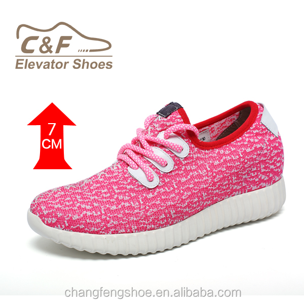 ladies height increasing shoes casual sport shoes yezzy running shoes for women