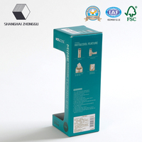 The Vacuum Cups Package Paper Color Box with window