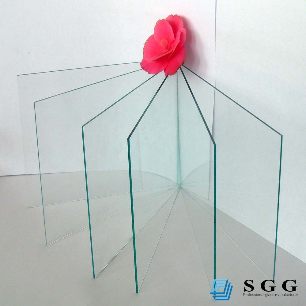Best quality temperable float 2mm thickness clear glass