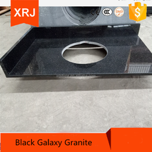 Black Galaxy Granite Price for Different Edges Countertop